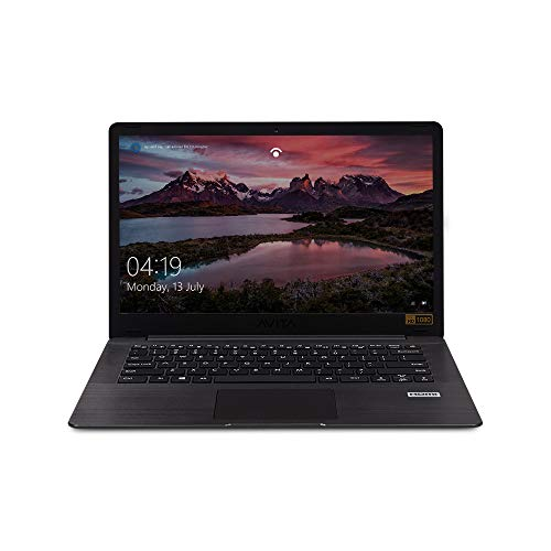 AVITA PURA NS14A6INU442-MEGYB 14-inch Laptop (AMD R3-3200U/4GB/256GB SSD/FHD/Windows 10 Home in S mode/AMD Radeon Vega 3 Graphics/Microsoft Office 365/1.34Kg), Metallic Black with 3 in 1 Sleeve (Grey)