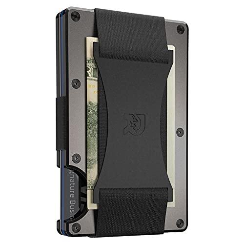 The Ridge Slim Minimalist RFID Blocking Metal Wallet