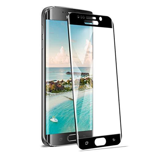 Protezione Schermo per Samsung Galaxy S6 Edge [2 Pack], 9H Durezza Anti-Graffi Vetro Temperato Compatibile con Samsung Galaxy S6 Edge, [HD Trasparente] [Anti-Impronte] [Alta Sensibilità]