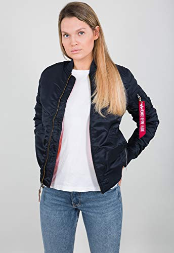 Alpha Industries Damen Bomberjacke blau S