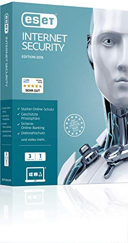 ESET Internet Security 2019 Edition 3 User. Für Windows Vista/7/8/10/MAC/Linux
