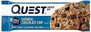 Quest Nutrition Proteina Bar, Oatmeal Chocolate Chip, 12 bars - 2.1 oz each