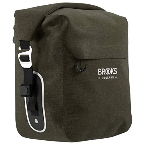 Brooks Gepäckträgertasche Scape Pannier Small, Grün, 80032211