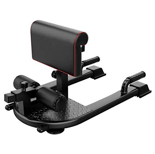 SISHUINIANHUA Squat Machine, Home Hip Device, Multi-Function Squat Rack, Indoor Fitness Equipment, Steel + Foam + Rubber, 86Cm*52Cm*55Cm
