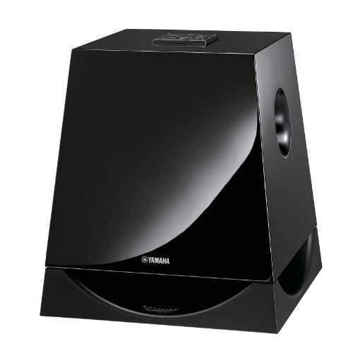 Yamaha NS-SW700 Advanced YST II en QD bass subwoofer (300 W, 25 cm woofer) 1 stuk pianolak zwart