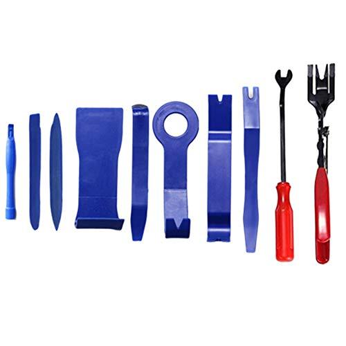 wersdf Kfz Werkzeug Auto Demontage Werkzeuge Kfz-Reparatur-Werkzeugsatz Auto-Werkzeugsatz Werkzeuge zum Entfernen von Verkleidungen