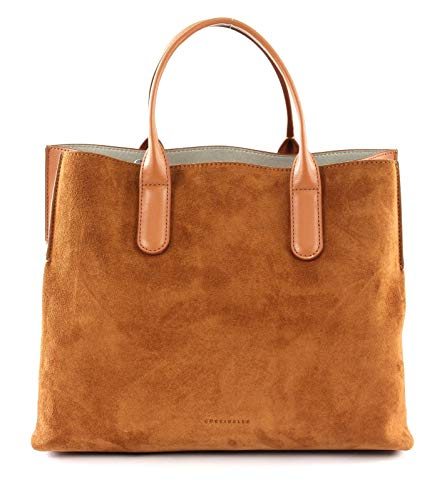 Coccinelle Tasche SANDY BIMATERIAL Damen Wildleder/Eco Leder Karamell - E1EO7180101W03