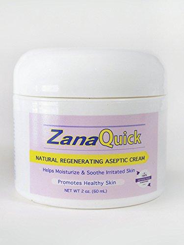 Zanaquick Regenerating Aseptic Cream - Helps to Moisturize and Soothe Irritated Skin - Nail Fungus Treatments - Antifungal Cream