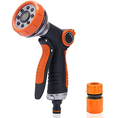 Amazon - 50% Off on Garden Hose Nozzle Hose Sprayer,Hose Nozzle Heavy Duty Water Hose Nozzle