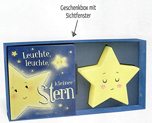 Grafik Werkstatt Baby-Box, Nachtlicht kleiner Stern + Kinderbuch mit 29 Seiten