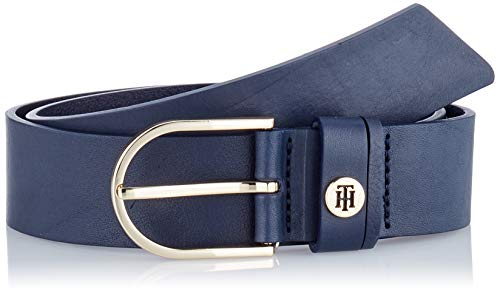 Tommy Hilfiger Classic Belt 3.5 Cintura, (Blue Cjm), 7 (Taglia Produttore: 95.0) Donna