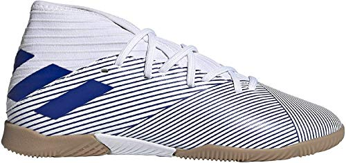 Adidas Nemeziz 19.3 IN J, Zapatillas Deportivas Fútbol Unisex Infantil, Azul (FTWR White/Team Royal Blue/Core Black), 38 EU