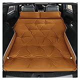 GZA Cama Inflable AUTOMÁTICA Cama SUV SUV Aire Cama DE Viaje Trasero (Color : Brown)