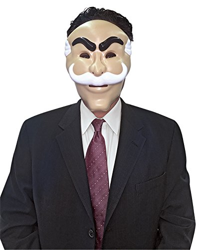 Rasta Imposta Mr. Robot Mask, Officially Licensed by NBC Universal
