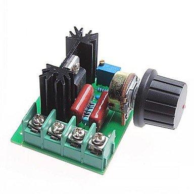 UKIAN Módulos/sensores Arduimo accessonries 2000W Módulo regulador de voltaje SCR/regulador/regulador de velocidad del motor/termostato