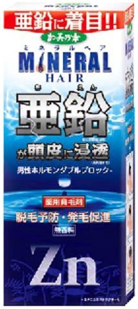 支出毛布マイナス薬用加美乃素ミネラルヘア育毛剤 × 10個セット