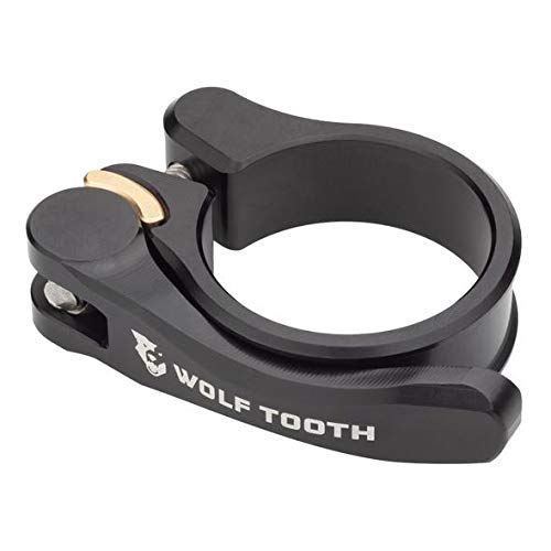 Wolf Tooth QR Quick Release Seatpost Clamp - 31.8mm, Black