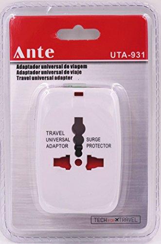 ANTE- Adaptador universal de viaje todo en uno - Europa - EE.UU. - Reino Unido - Asia - Australia -obras usb Viajes enchufe adaptador