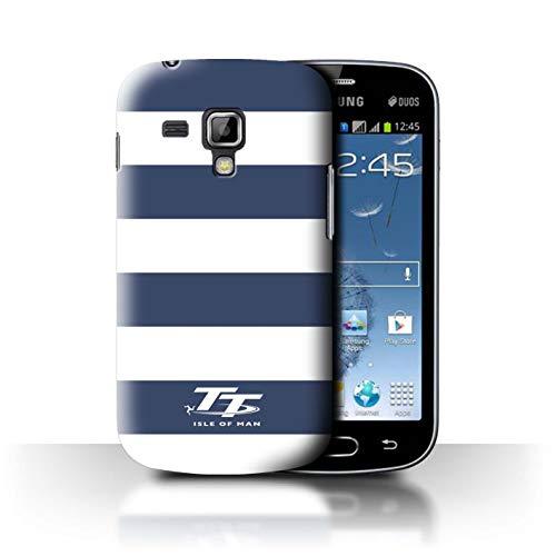 Isle of Man TT STUFF4 Phone Case/Cover/Skin/SGT-CC/Elegance Collection Samsung Galaxy Trend Plus/S7580 Blauwe zebra