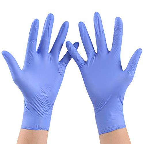 guantes protectores lavables para la cocina del hogar 100 guantes desechables de l/átex de nitrilo guantes antibacterianos respetuosos con el medio ambiente sin polvo