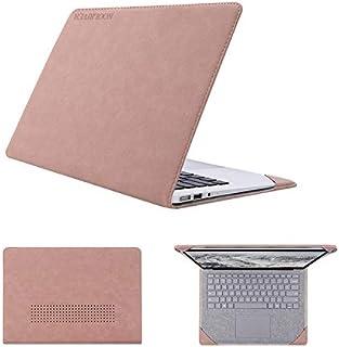 Surface Laptop 2 /Surface Laptop ケース/カバー 手帳型 レザー おしゃれ サーフェス ラップトップ2用 手帳型タイプ レザーケース/カバー おしゃれ タブレットケース/カバー(ダークグレー)