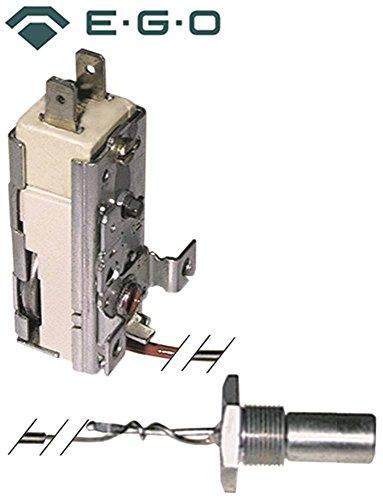 EGO 55.14119.850 Thermostat für Spülmaschine Colged 50, 53, 50S, Palux 328, 325 für Tank max. Temperatur 58°C 1-polig 1NC 16A