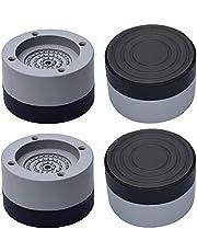 Gativs 4 Pezzi Tappetino per Lavatrice Tappetino per Asciugatrice Antivibrazioni per Lavatrice Piedini per Lavatrice Supporto per Lavatrice Piedini per Asciugatrice Antivibrazioni