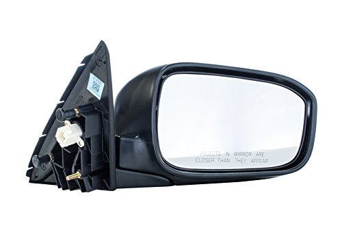 Passenger Side Mirror for Honda Accord LX/EX/SE Models 4door sedan (2003 2004 2005 2006 2007) Manual Folding Power Adjusting Non-Heated Right Side Rear View Outside Door Mirror Replacement - HO1321152