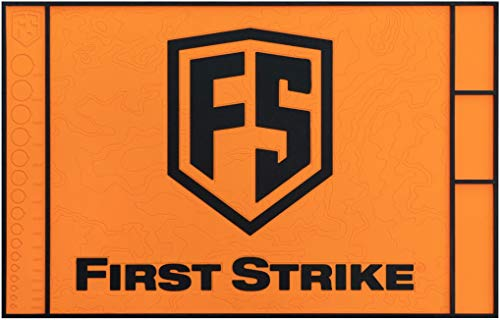 First Strike T15 Rubber Techmatte - orange