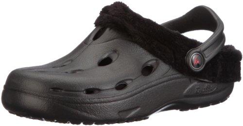 Chung Shi Unisex-Erwachsene Dux Winter Clogs, Schwarz (Schwarz 8900011), 43 EU (XL)