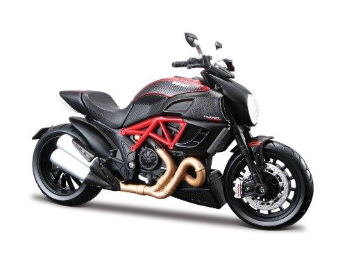 Bauer Spielwaren - Motorrad-Modellbausätze in Schwarz/Rot