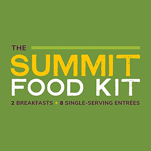 GOOD TO-GO Summit Food Kit | Dehydrated Backpacking and Camping Food Assortment | Lightweight | Easy to Prepare