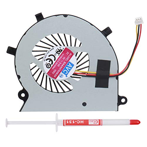 S-Union New Laptop CPU Cooling Fan Compatible For Toshiba Satellite Radius P55W-B P55W-B5112 P55W-B5318 P55W-B5220 P55W-B5224 Series Replacement P/N:BAAA0705R5H With Thermal Grease