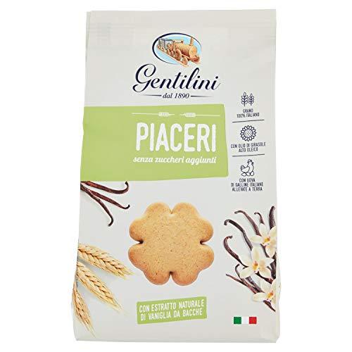 Gentilini - Biscotti Piaceri Senza Zuccheri Aggiunti - 330 g