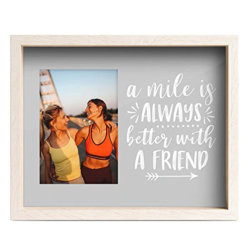 Gone For a Run Premier Running Photo Frame | A Mile is Always Better with a Friend