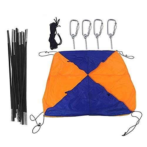Ulapithi Toldo hinchable para 3-4 personas, toldo de kayak, tienda de campaña plegable para barco, toldo de velero, para pesca, camping