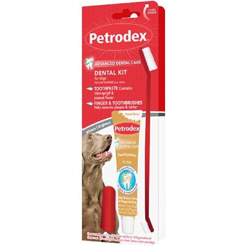 Petrodex Sentry Natural Peanut Kit dentaire pour chiens 70,9 g