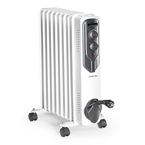TROTEC Radiatore ad olio TRH 20 E Riscaldatore elettrico Riscaldamento 2 kW