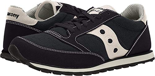 Saucony mens Jazz Low Pro Vegan Sneaker, Black, 10 M US