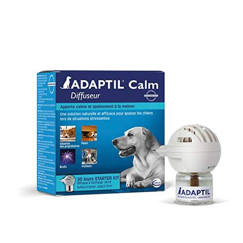 ADAPTIL Calm – Anti-Stress pour Chien – Diffuseur + Recharge 48 ML