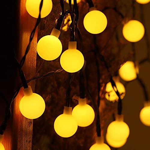 Kansang Luces solares LED de jardín para exteriores – Luces de guirnalda que se utilizan en patios, jardines, fiestas, parques, etc.