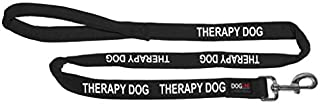 Personalized Microfiber Soft Dog Leash Padded 4 or 6 ft 9 Colors Service Therapy Dog Adopt Pet Do Not Pet Custom