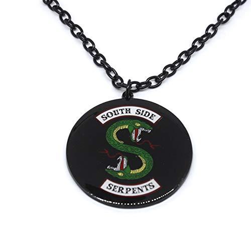 SayHia Riverdale Halskette, Riverdale Schlüsselanhänger, inspiriert von Riverdale, in Geschenkbox von Beaux Bijoux Riverdale