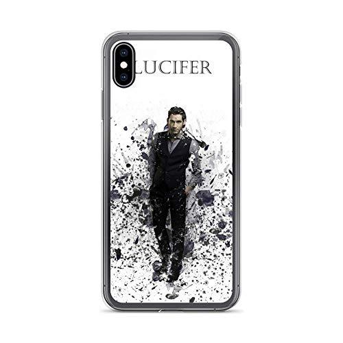 HUANRU Me STYOLucifer TV Shows Series Crystal CompatiblewithiPhone Cabina telefonica Case PureClearPhoneCabina telefonica CasesCover (iPhone 6 / 6s)
