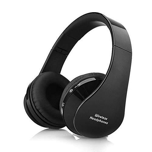 docooler Cuffie Bluetooth Senza Fili Over-Ear Cuffie,Cuffie Riduzione del Rumore Stereo Pieghevoli Auricolari,con Microfono Auricolari Vivavoce Multifunzionali