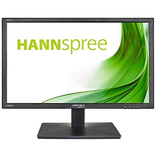 "HANNspree HL225HPB 54,61cm (21,5"""") LED-Monitor Full-HD 250cd VGA HDMI Lautsprecher VESA Neigbar, schwarz,"