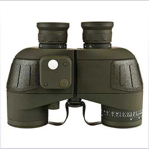 Jumelles Adultes Militaires, Binoculaire Sportif Optique Spotting Scope avec Compass Étanche Antichoc Télescope pour La Chasse Camping Randonnée Voyage