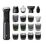 Philips Multigroom y recortador de barba set de arreglo personal 18 en 1 mg7785/20 Negro