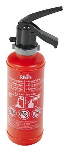 Theo Klein 8940 Fire Fighter Henry Feuerlöscher I Mit 0,5-Liter-Tank und Spritzfunktion I Maße: 10 cm x 6,5 cm x 26 cm I Spielzeug für Kinder ab 3 Jahren