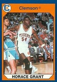 Autograph Warehouse 96638 Horace Grant Basketball Card Clemson 1990 Collegiate Collection No. 8